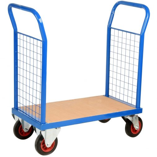 Compact Mesh Platform Trolley