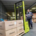 Electric Pallet Stacker 1200kg GX Warehouse