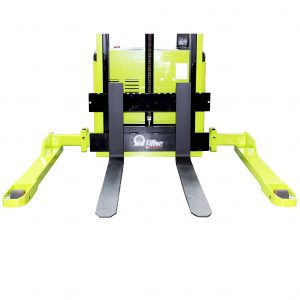 Electric Pallet Stacker Adjustable Straddle Legs
