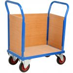 Goods Trolley with Sides