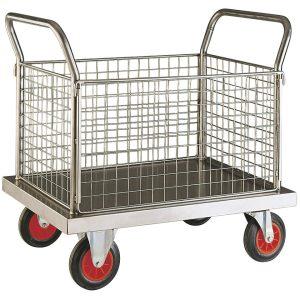 Heavy Duty Stainless Steel Trolley - Image