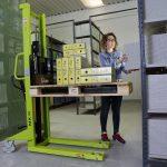 Pallet Lifter 1000kg Manual Forklift Use