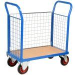 Small Platform Mesh Trolley