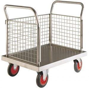 Stainless Steel Trolley Cart - Image