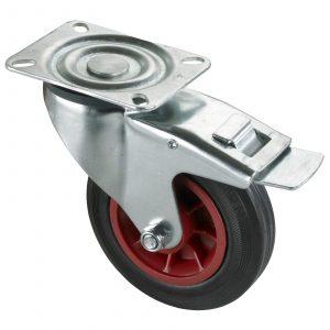 Trolley Cart Total Stop Brake Wheel