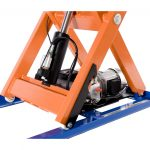 Electric Hydraulic Lift Table 1000kg Scissor Base