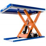 Electric Hydraulic Lift Table 1000kg Scissor Mechanism