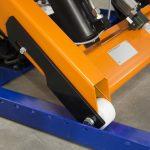 Heavy Duty Electric Scissor Table 1000kg Roller