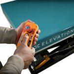 Double Scissor Lift Table Electric Control