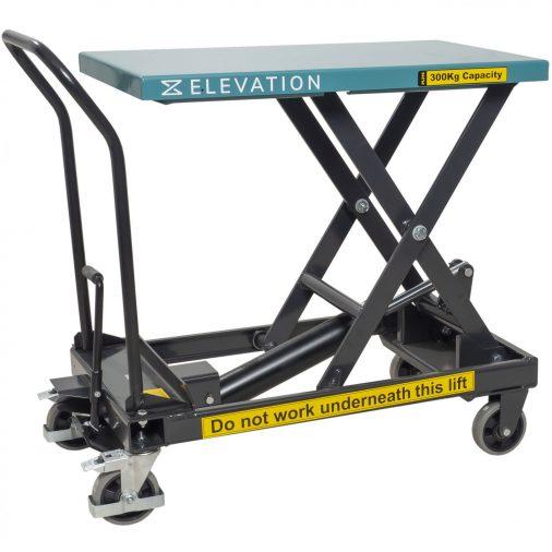 Hydraulic Mobile Scissor Lift Table 300kg