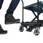 Mobile Scissor Lift Table 300kg Hydraulic Pedal