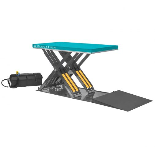 Pallet Lift Platform with Ramp