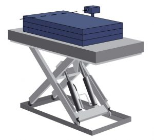 Hydraulic Platform Lift Stack Height Control System