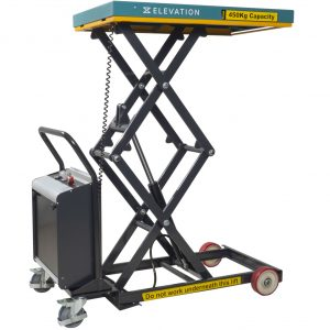 Battery Operated Mobile Lift Table 450kg - Image