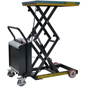Battery Operated Scissor Lift Table 300kg - Image