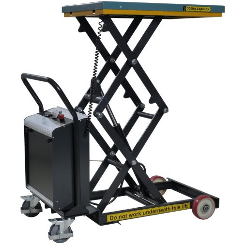 Battery Operated Scissor Lift Table 300kg
