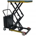 Battery Operated Scissor Lift Table 300kg Front