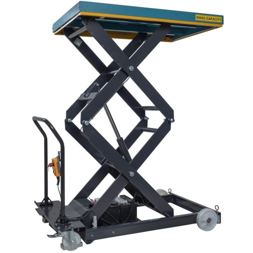 Battery Powered Mobile Lift Table 800kg