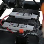 Battery Powered Mobile Lift Table 800kg Battery