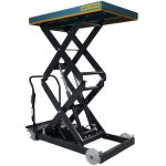 Battery Powered Mobile Lift Table 800kg Front
