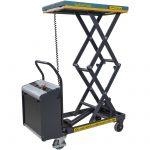 Double Electric Hydraulic Scissor Lift Table 125kg
