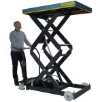 Electric Lift Table 500kg Operation