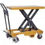Heavy Duty Mobile Scissor Lift Table 800kg