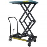 Hydraulic High Lift Table Cart 125kg Front