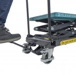 Hydraulic High Lift Table Cart 125kg Pedal