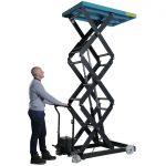 Scissor Hydraulic Lift 500kg Operation