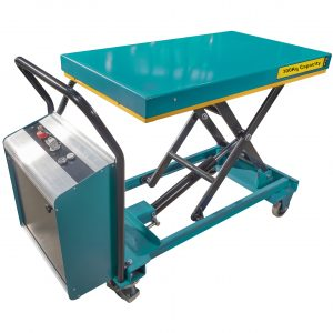 Small Electric Scissor Lift Table 300kg - Image