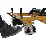 Heavy Duty Mobile Scissor Lift Table 800kg Brake