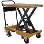 Heavy Duty Mobile Scissor Lift Table 800kg Front