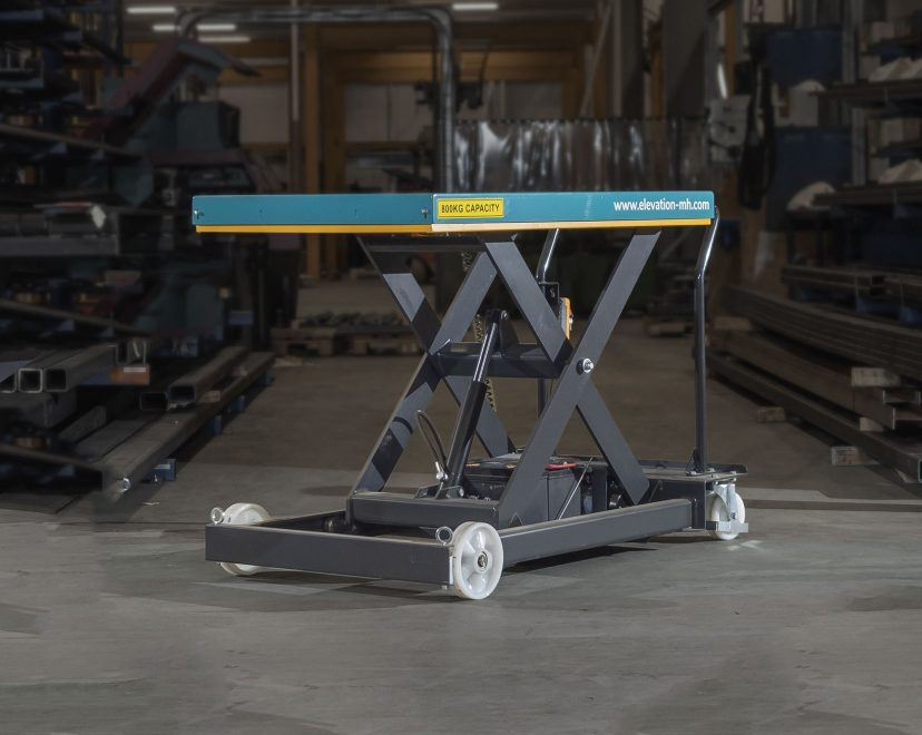 How a Mobile Scissor Lift Table Improves Production - Image