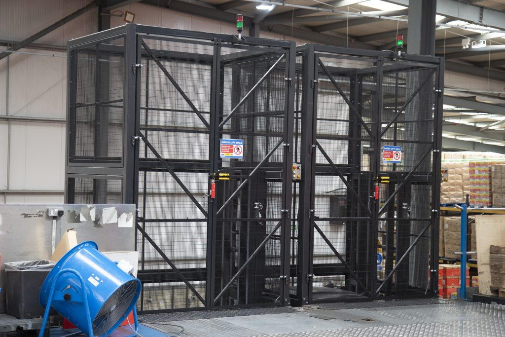Mezzanine Goods Lift Upper Level